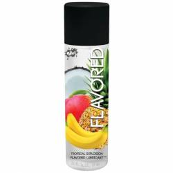 WET FLAVORED LUBRICANTE EXPLOSION TROPICAL 89 ML